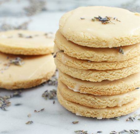 Lavender Lemon Glazed Cookies_7558