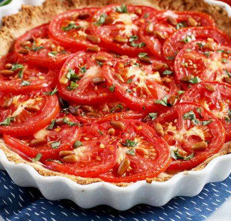 Basil Tomato Tart_0018