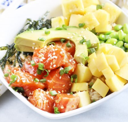 Tropical Salmon Poke Bowl_9855