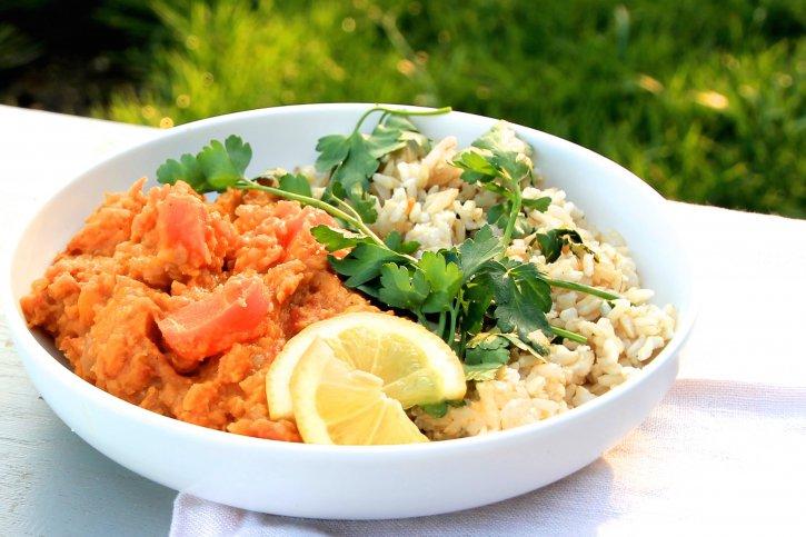 Lentil & Squash Curry