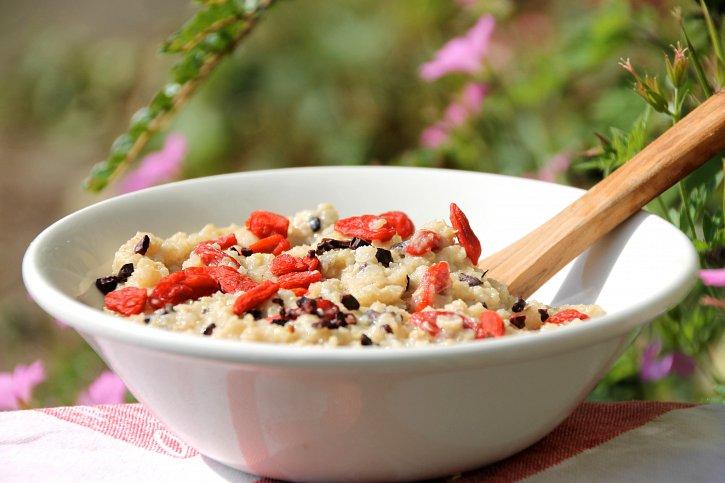 creamy quinoa porridge
