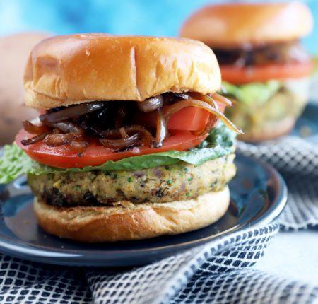 Portobello Bean Burgers_9390