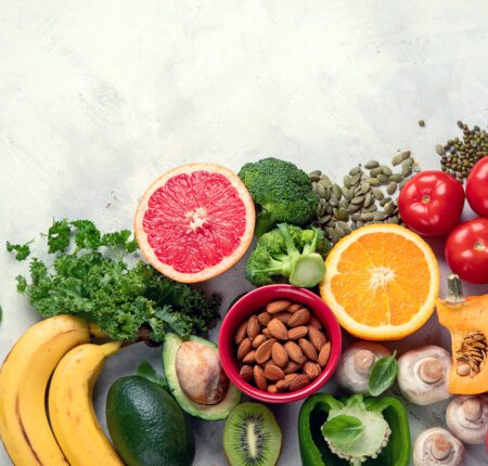 Healthy,Foods,High,In,Potassium.,Products,Containing,Vitamins,,Antioxidants,And